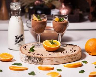 Mousse au chocolat à l'orange
