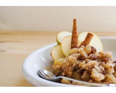 Apfel-Kürbis Milchreis