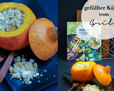#foodinspo - Couscous Filled Pumpkin with Feta, Cashews and dried Apricots {Veggie BBQ}