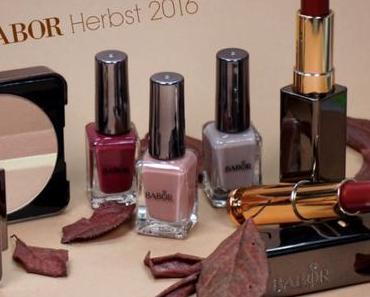 [Beauty] Review BABOR Herbst/Winterlook 2016