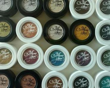 [Haul] Moonshine Mineral Make-Up Lidschatten Wundertüte