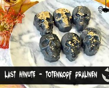Halloween DIY - Totenkopf Pralinen