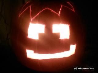 Halloween, ganz gemütlich in diesem Jahr.