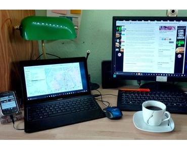 Foto: Mein Computerarbeitsplatz