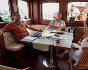 Wie ein türkischer Bootsbauer das Unternehmer-Herz eines Deutschen eroberte