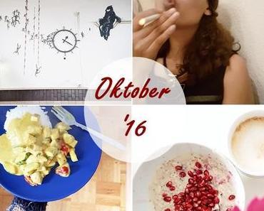 Der Monat Oktober in Instagram Bildern