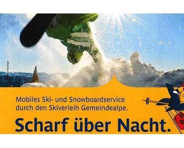 Scharf über Nacht – Mobiles Ski- & Snowboardservice