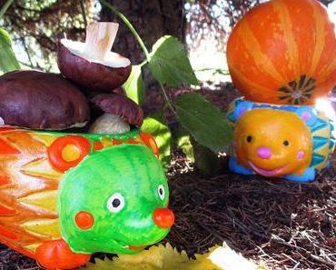 Jaimee kreativ: Bunte Herbst-Basteleien von Baker Ross