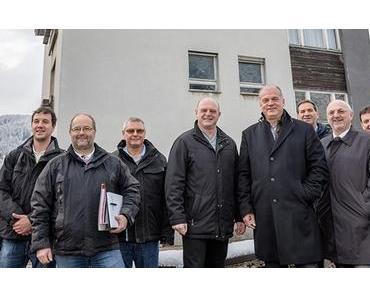 Fa. Erwin Fuchs baut 4 Wohneinheiten in St. Sebastian