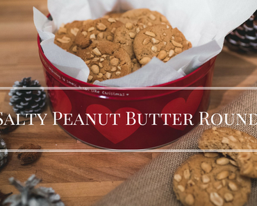 Salty Peanut Butter Rounds
