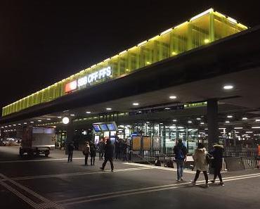 Der neue Bahnhof