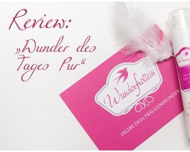 """Review: Wunderfrollein """"Wunder des Tages Pur"""" Tagescreme*"""