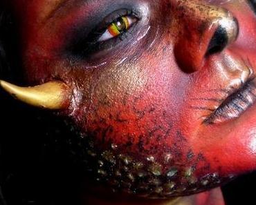 magical Make-up Challenge - Drache