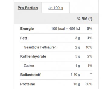 Proteinpudding von Prozis Meals