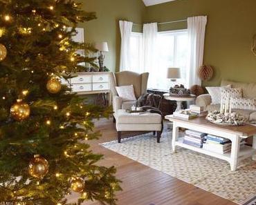 Mein gemütliches Wohnzimmer zur Weihnachtszeit und Deko-Kuschel-Tipps für euch