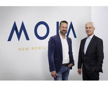 Volkswagen startet Moia – die Marke für Mobilitätsdienstleistungen