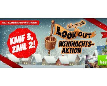 Spiele-Offensive Aktion - Die große Lookout Kauf 3 Zahl 2 Weihnachts-Aktion