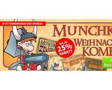 Spiele-Offensive Aktion - Die Munchkin Weihnachts Kombi