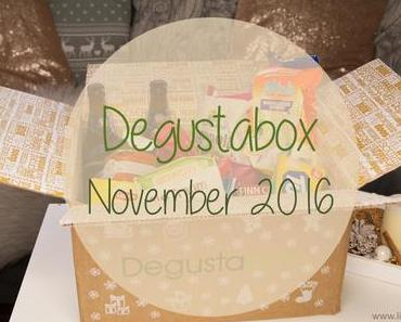 Degustabox - November 2016 - unboxing
