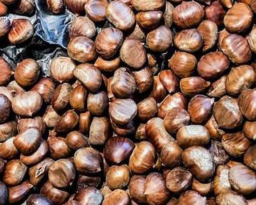 Tag der heißen Maronen in den USA – der amerikanische Roast Chestnuts Day