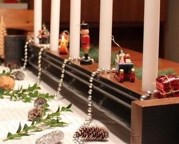 DIY Kerzenhalter aus Handlauf