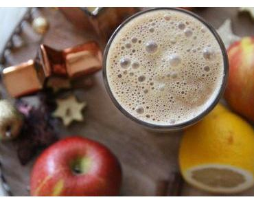 Winter-Smoothie Rezept mit Zimt und Apfel