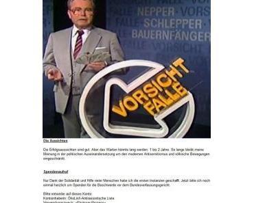 Vorsicht Falle: Jutta Ditfurth in Nepper, Schlepper, Bauernfänger