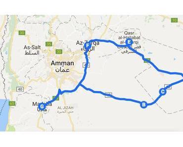 Tagesausflug zu den Wüstenschlössern Jordaniens