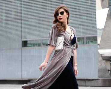 Velvet Outfit w/ Louis Vuitton