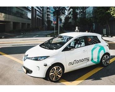 NuTonomy testet in Boston autonome Fahrzeuge