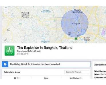 Facebook löst Fake-News-Bombenalarm aus