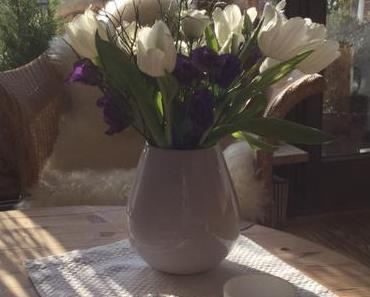 Friday-Flowerday – oder – Frühling trifft Winter