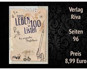 Buchvorstellung | Mein Leben in 100 Listen - ein originales Ausfüllbuch