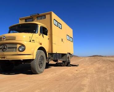 Offroad Track mit Mercedes LA 911 – Abenteuer pur