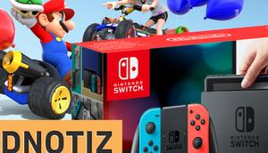Nerdnotiz: Erste Gedanken Nintendo Switch Hands-on
