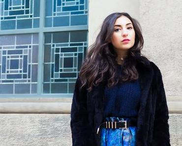 Berlin Fashion Week Winter Outfit // Skater Skirt and Boots