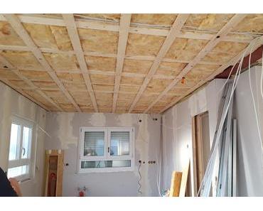 Innenausbau Teil 2 Elektroinstallation verlegen und Trockenbau
