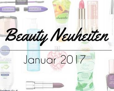 Beauty Neuheiten Januar 2017 – Preview