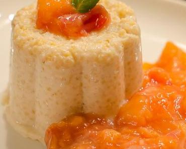 Süßer Brei – Teil 3: Hirsepudding mit Blutorange-Mango Kompott