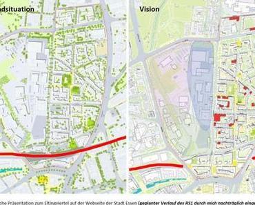 INFO: Gut gelaufen, die Demo für den Radschnellweg Ruhr RS1 in Essen