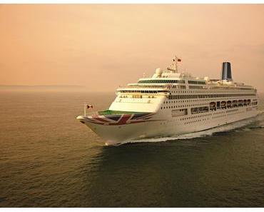 Oriana von P&O Cruises im neuen Design