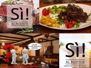 Si! Al Rustico – Neues Restaurant in Kaarst mit glutenfreien Gerichten – Aktion