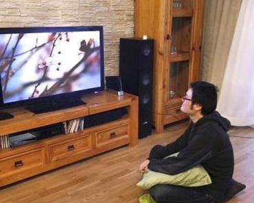 Damit Fernseher nicht dunkel bleibt