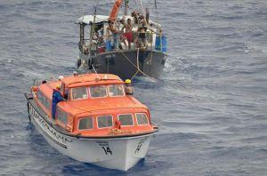 Rettungsaktion und Spendensammlung MS Albatros