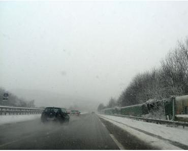 Foto: Etwas Schnee zwischendurch…
