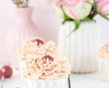 Himbeer-Apfel-Cupcakes, Geschenkideen für Verliebte und ein Freebie