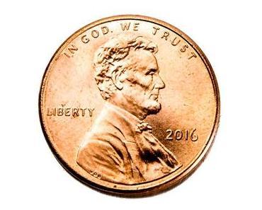 Tag des verlorenen Penny in den USA – der amerikanische National Lost Penny Day