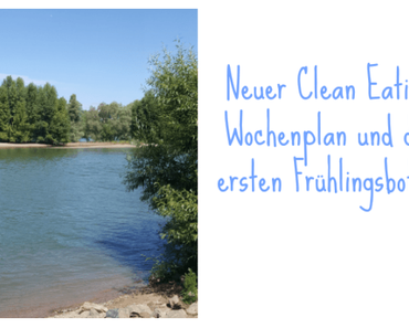 Clean Eating Wochenplan KW 7