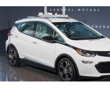 General Motors will 2018 tausende autonome Autos testen