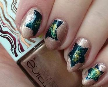 [Nails] #nailsreloadedchallenge - Runde 2: DIY Sticker mit CATRICE LUMINATION NAIL LACQUER C01 Interstellar
